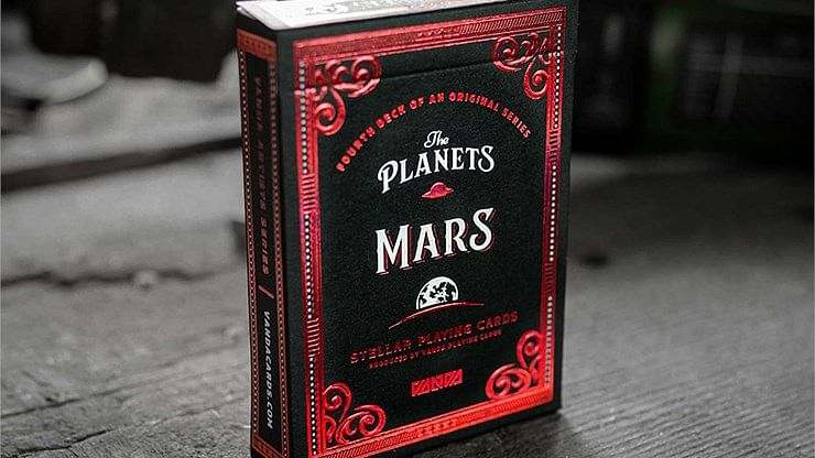 The Planets: Mars Playing Cards - magic