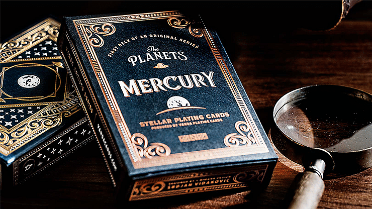 The Planets: Mercury Playing Cards - magic