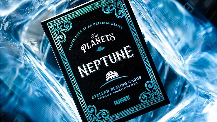 The Planets: Neptune Playing Cards - magic