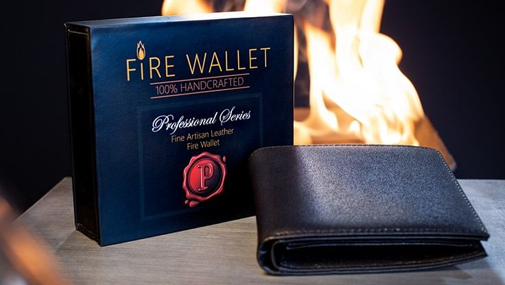 The Professional's Fire Wallet - magic