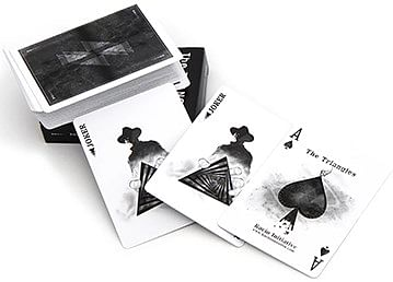 The Triangles Prototype Edition Playing Cards