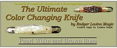 The Ultimate Color Changing Knife - magic