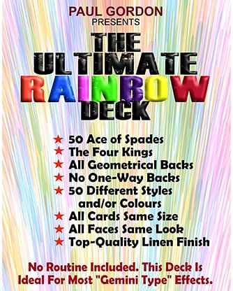 The Ultimate Rainbow Deck - magic