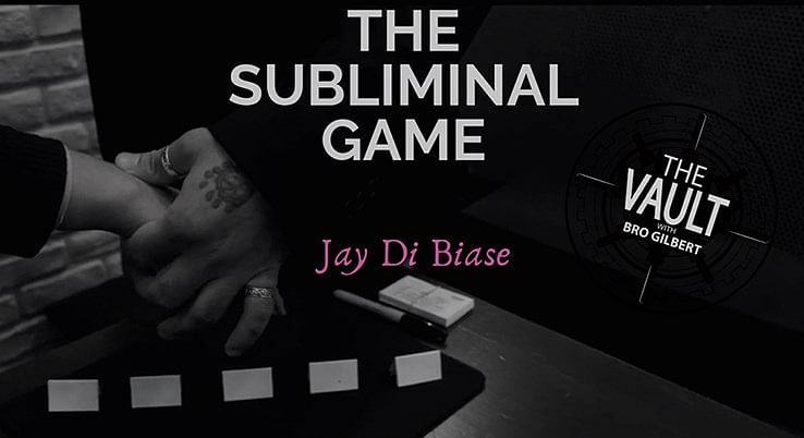 The Vault - The Subliminal Game - magic