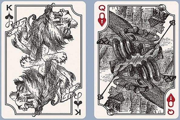 The Wonderland and Looking-Glass Playing Card Set