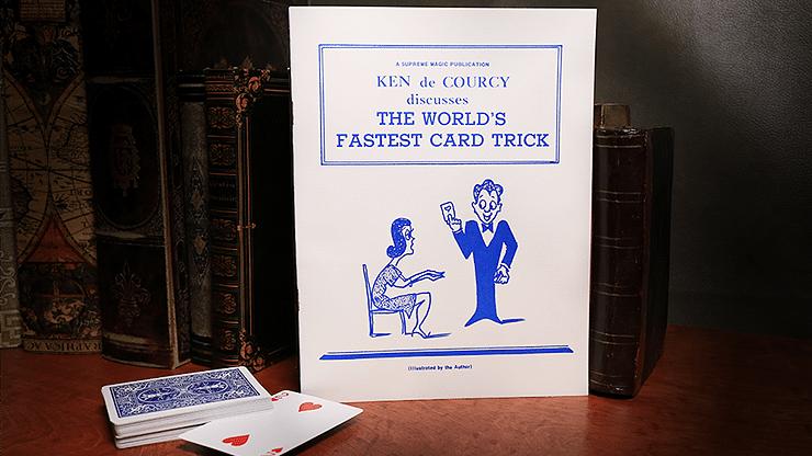 The World's Fastest Card Trick - magic