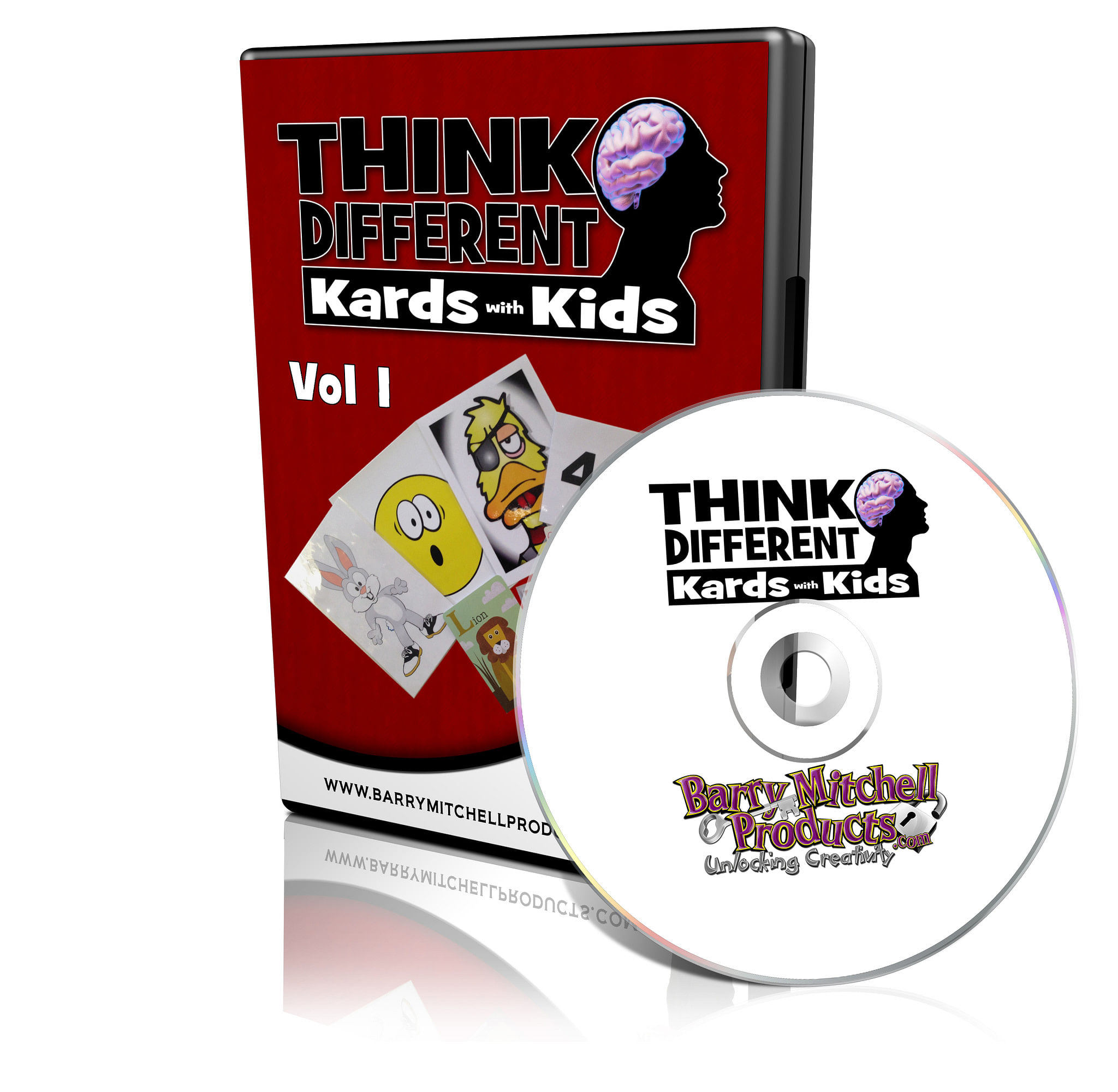 Think Different - Kards with Kids Volume One - magic