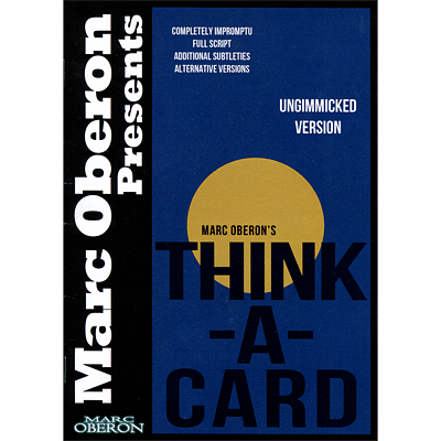 Think-a-Card (ungimmicked version) - magic