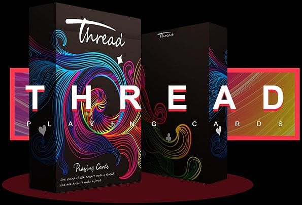 Thread Cardistry Playing Cards - magic