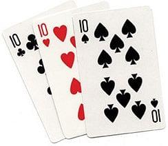 Three Card Monte - magic