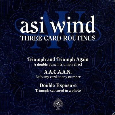 Three Card Routines - magic
