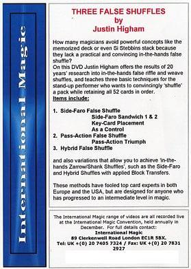 Three False Shuffles