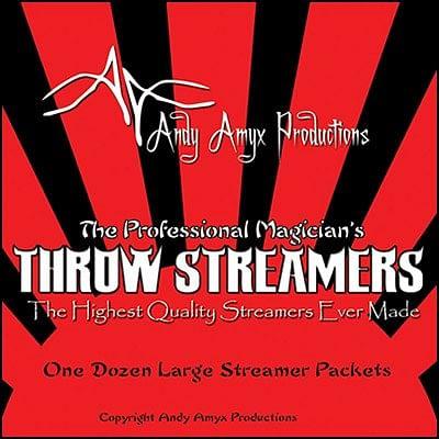 Throw Streamers - magic
