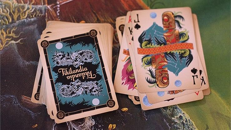 Tikilandia Playing Cards Printed