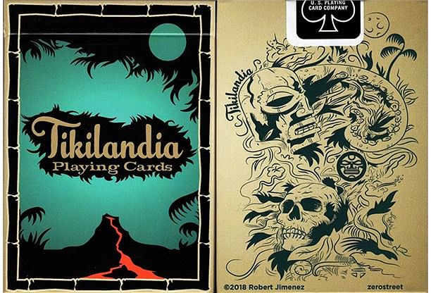 Tikilandia Playing Cards Printed - magic