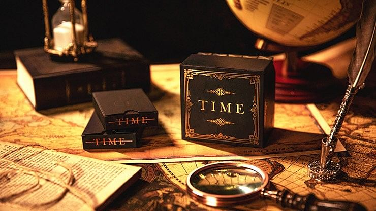 TIME Playing Cards (Deluxe Set) - magic