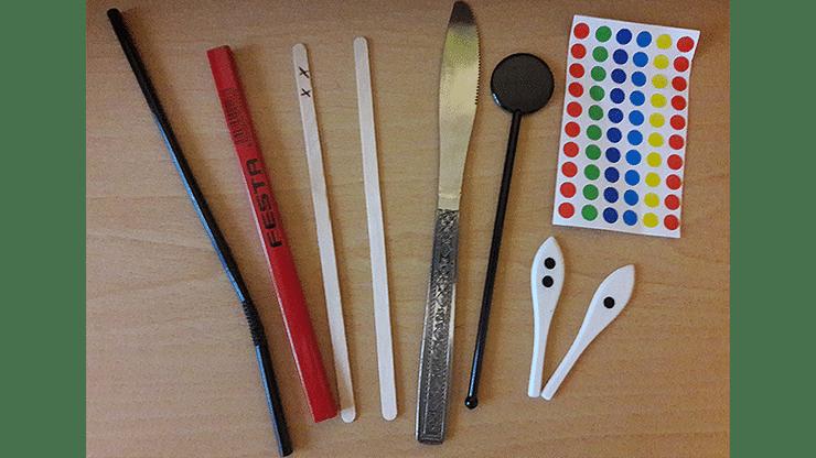 TIP = Totally Impromptu Paddle Trick - magic