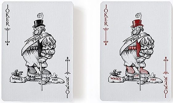 Titans Robber Baron Playing Cards