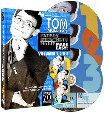 Tom Mullica's Impromptu Magic 3 Disc Combo - magic