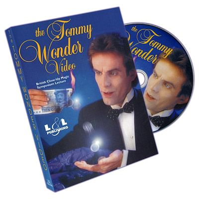 Tommy Wonder at British Close-Up Magic Symposium - magic