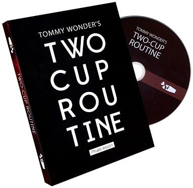 Tommy Wonder's 2 Cup Routine - magic
