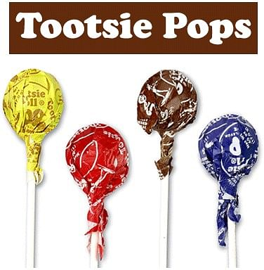 Tootsie Pops - magic