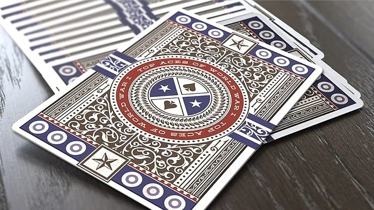 Top Aces of WWI Standard Edition Playing Cards