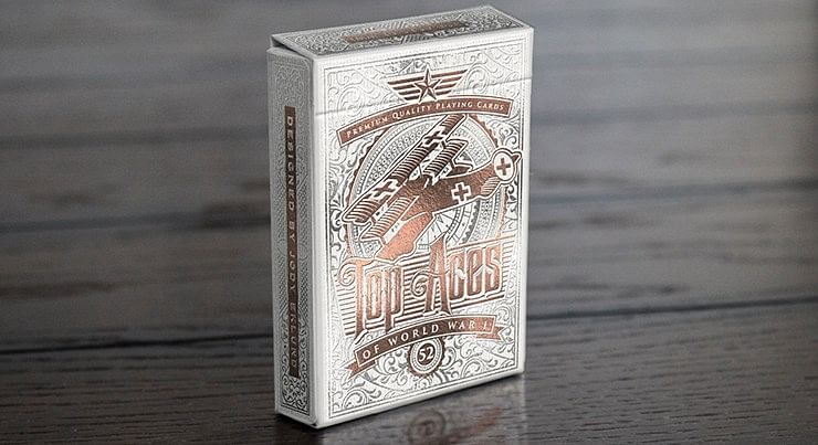 TOP ACES of WWI Playing Cards - magic