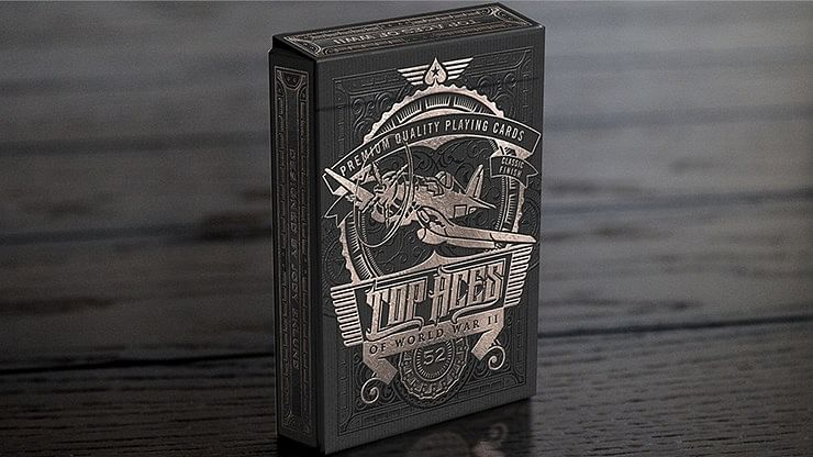 TOP ACES of WWII Playing Cards - magic