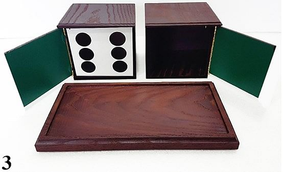 Tora Antique Dice Box