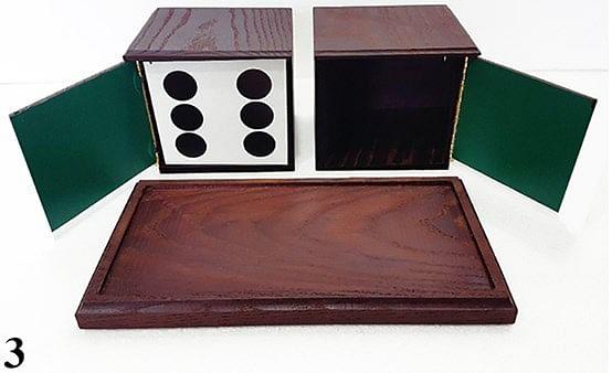 Tora Antique Dice Box