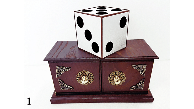 Tora Antique Dice Box - magic