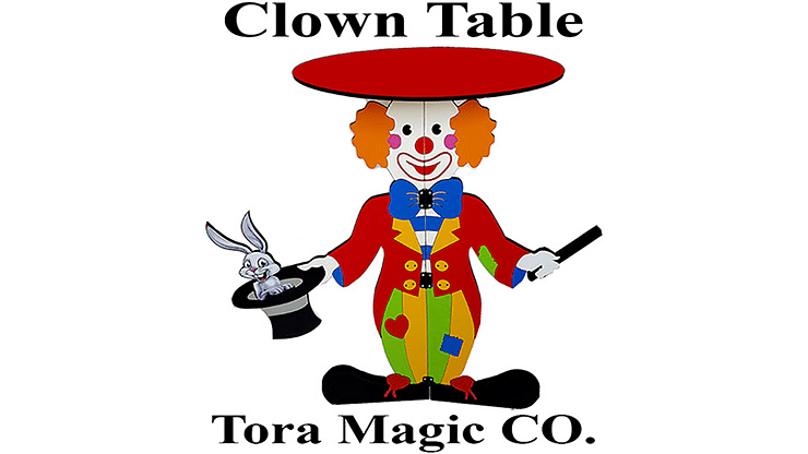 Tora Clown Table - magic