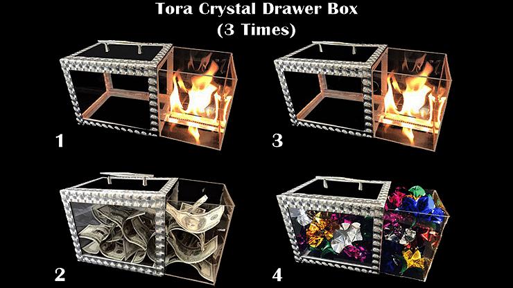 Tora Crystal Drawer Box - magic