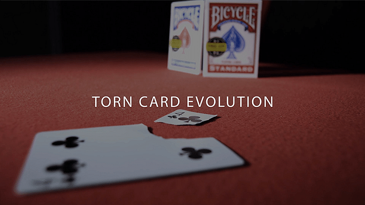 Torn Card Evolution - magic