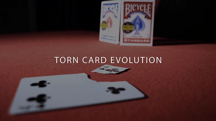 Torn Card Evolution - magic