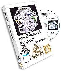 Torn & Restored Newspaper DVD - magic