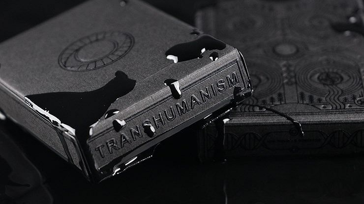Transhumanism Playing Cards - magic