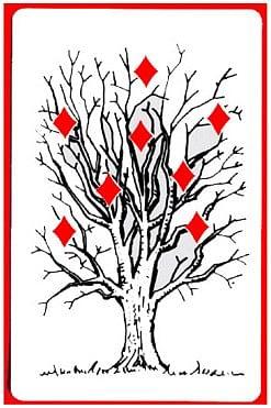 Tree of Diamonds Card - magic