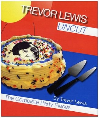 Trevor Lewis Uncut - Book - magic