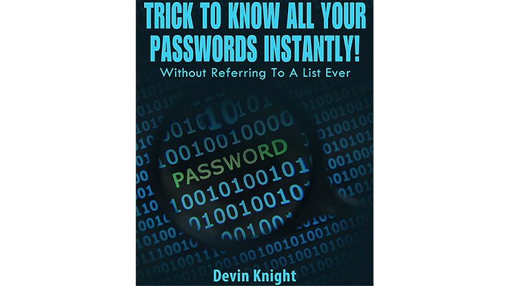 Trick To Know All Your Passwords Instantly! - magic