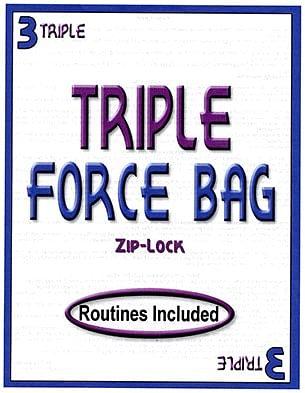 Triple Force ZIP LOCK Bag - magic