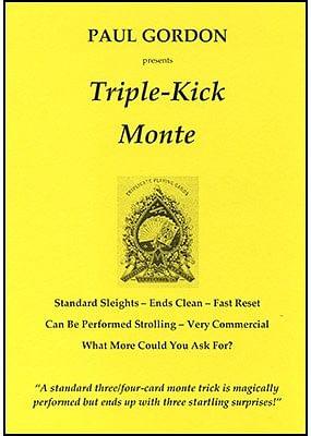 Triple Kick Monte - magic
