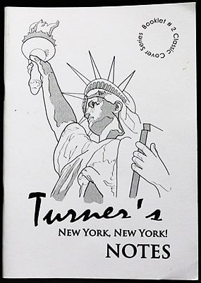 """Peter Turner's """"New York, New York"""" Lecture Notes - magic"""