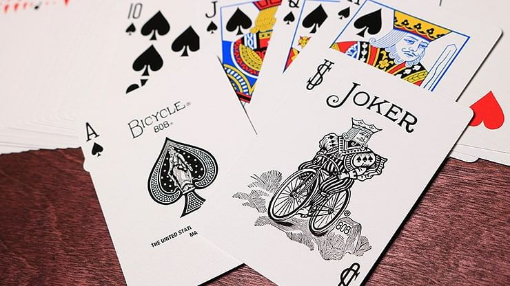 Bicycle Turquoise Playing Cards