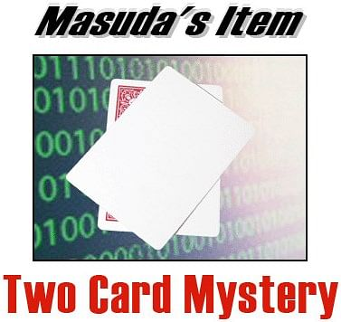 Two Card Mystery - magic