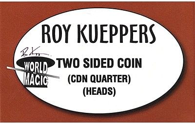 Two sided Canadian Quarter - - magic