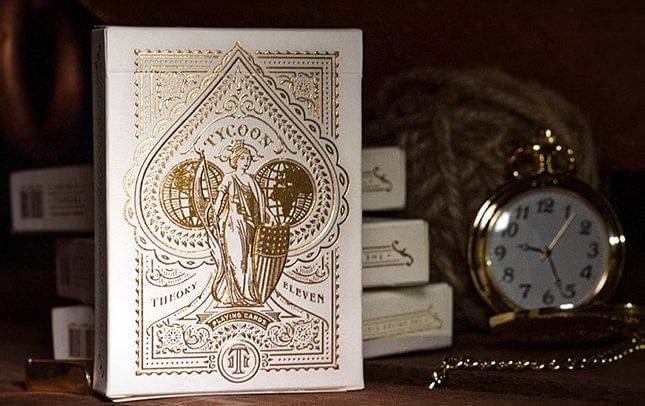 Tycoon Playing Cards (Ivory) - magic
