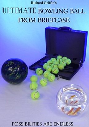 Ultimate Bowling Ball from Briefcase  - magic