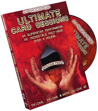 Ultimate Card Sessions - Volume 2s - magic